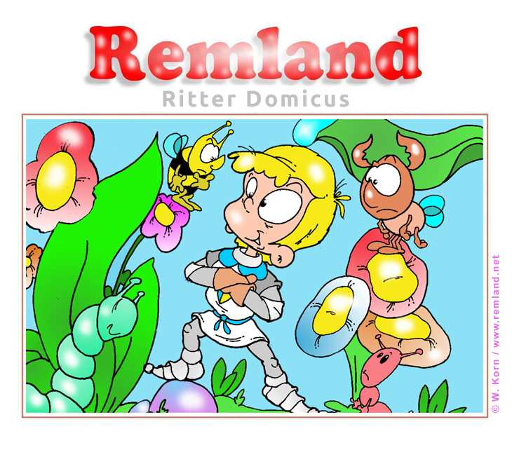 Bilderbuch online - Ritter Domicus