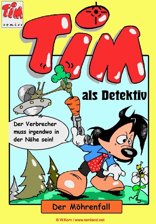 Comic Buch online lesen Detektiv Tim