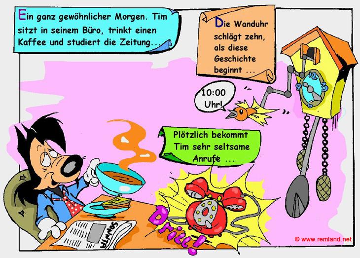 Comic Bücher online lesen - der Möhrenfall