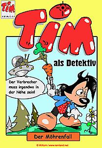 Comicgeschichte Detektiv Tim